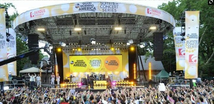 GMA Summer Concert Series in Central Park