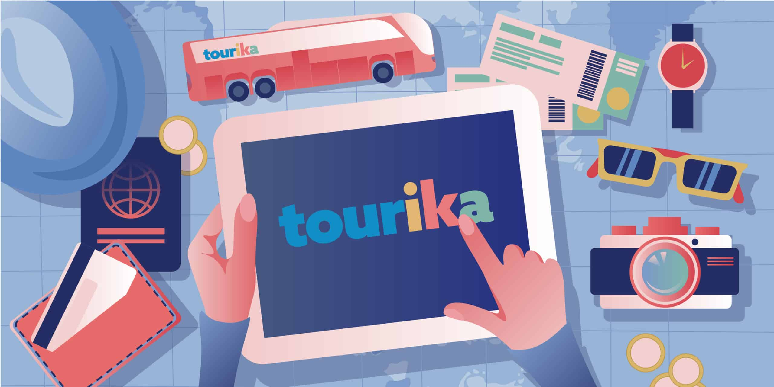 Bus tickets with Tourika