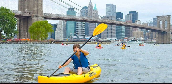 Brooklyn Bridge Boathouse Free Kayaking